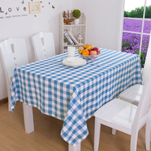 1Pc Plaid Rectangle Tablecloth Round For Weddings Table Cover Table Cloth  Dining Hotel Banquet Transparent Home