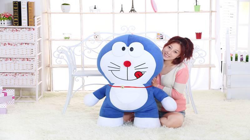 stuffed toy ,huge 95cm Doraemon plush toy hugging pillow Christmas gift h198