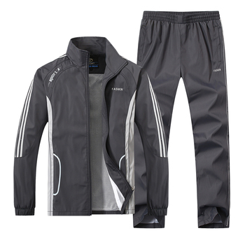 JEASS Men Running Quick Dry Tracksuit Sport Suits