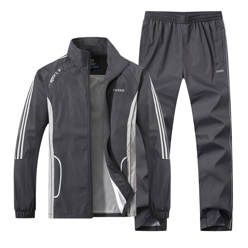 JEASS Men Running Suits Plus Size Mens Sports Suits Quick Dry High Quality Men Tracksuit Sport Suits Men Running Jogging Sets цены онлайн