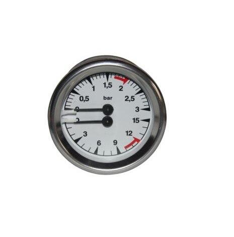 MARZOCCO manometer double scale 63mm pressure range 0-3 / 0-15barMARZOCCO manometer double scale 63mm pressure range 0-3 / 0-15bar
