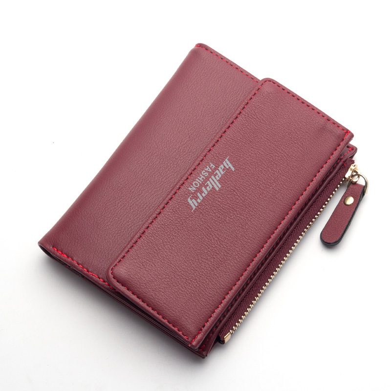 High Quality PU Leather Wallets Women Lovely Letter Priting Zipper & Clasp Coin Pocket Short Purse Clutch Small Wallet Female high quality leather cute women s wallets coin purse leather short women leather wallets girls best gift free shipping