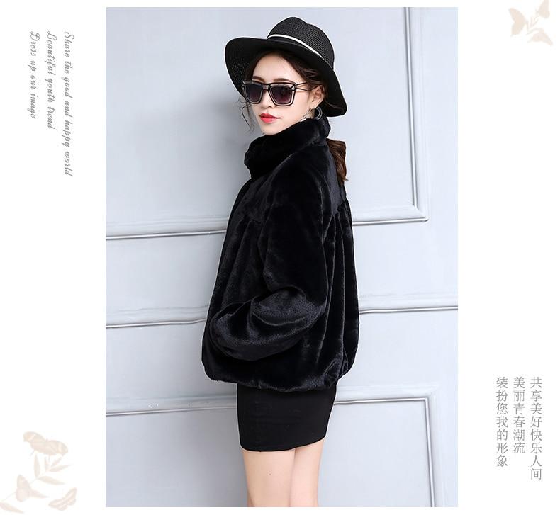 casaco Jaqueta peludo Do 19