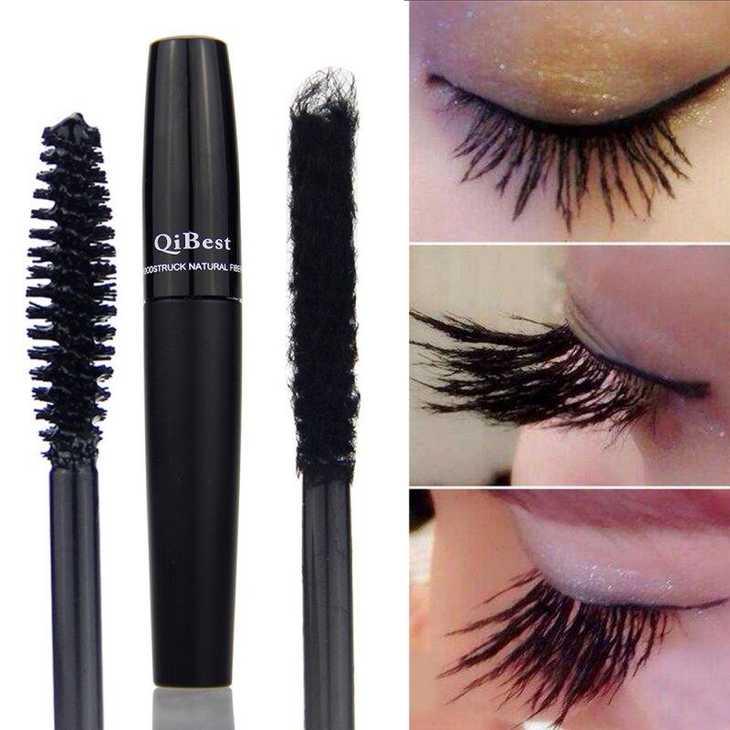 2 Pcs Long-Lasting 3D Fiber Lash Eyelash Curling Mascara Waterproof Make Up