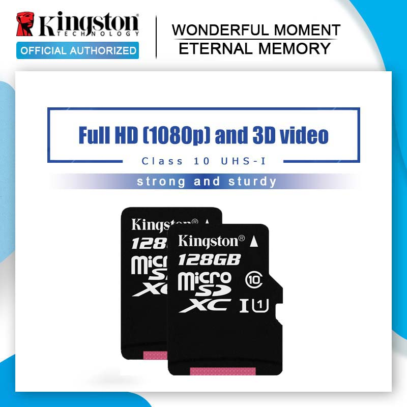 Kingston 8GB Class Memory-Card UHS-1 4-Microsd Original 128GB 32GB 16GB 64GB title=