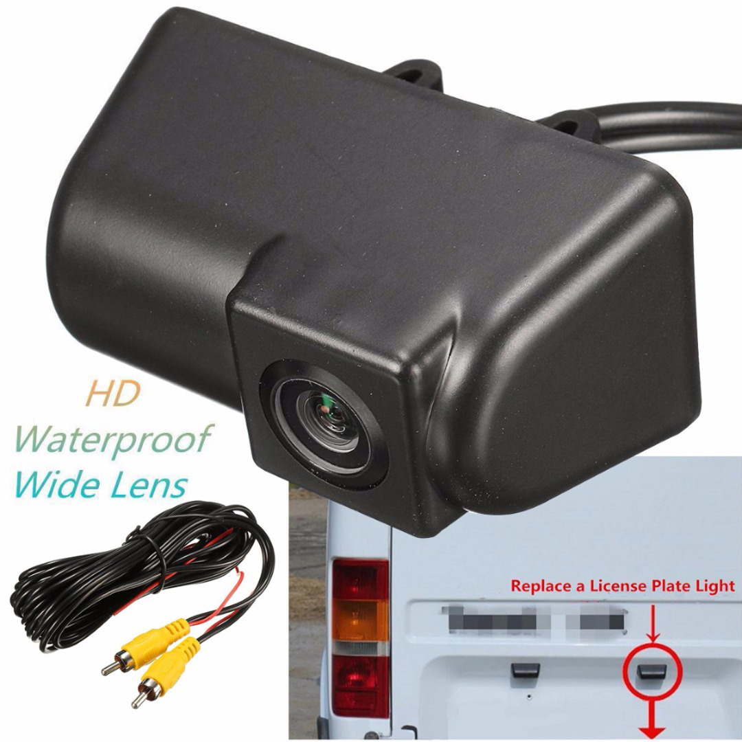 Mayitr Waterproof Rear View Camera Night Vision CCD Car Reversing Camera Kits for Ford Transit Connect Auto Parking AccessoriesMayitr Waterproof Rear View Camera Night Vision CCD Car Reversing Camera Kits for Ford Transit Connect Auto Parking Accessories