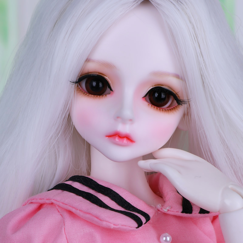 Full Set 1/4 Bjd Doll Sd Fashion Bory Joint Resin Doll With Makeup For Baby Girl Christmas Birthday New Year Present  Full Set 1/4 Bjd Doll Sd Fashion Bory Joint Resin Doll With Makeup For Baby Girl Christmas Birthday New Year Present