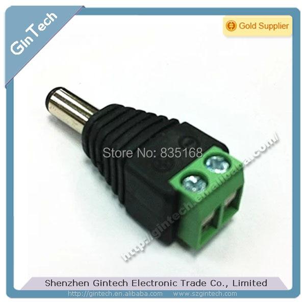 จัดส่งฟรี 10 pcs multi   function แจ็ค DC สำหรับกล้องวงจรปิด 2.1x5.5 มม., ชายสำหรับ Arduino DC2.1 ปลั๊ก