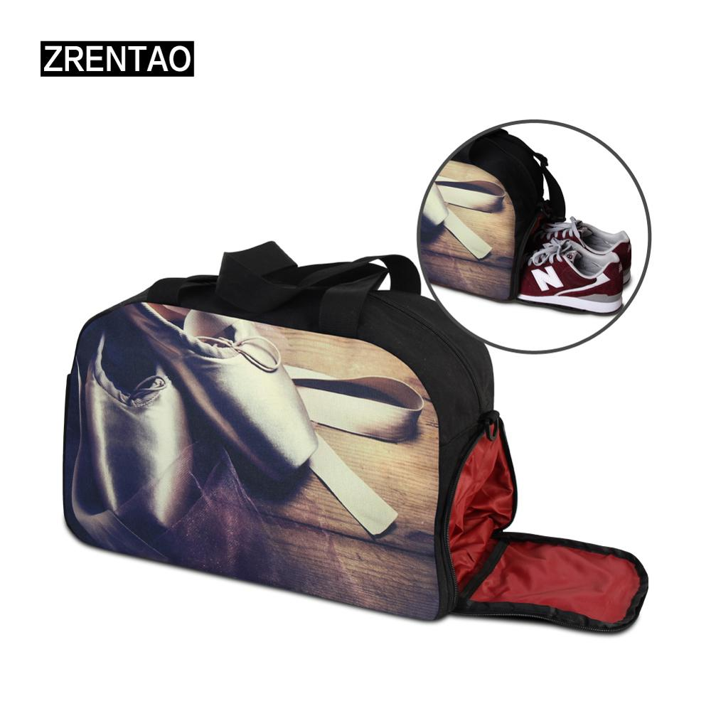 Floral Canvas Women Carry on Luggage Beach Bags Girls Duffel Bags Traveling  Tote Hikings Camps Weekend Overnight Duffle Bag -in Travel Bags from Luggage  ... 6590a2eb17c4b