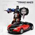 Литья под давлением Металл Игрушечных Автомобилей Робот Преобразования Фигурку Модель, 12 см Вытяните Назад Игрушечных Автомобилей, аниме Brinquedos. игрушки Для Детей