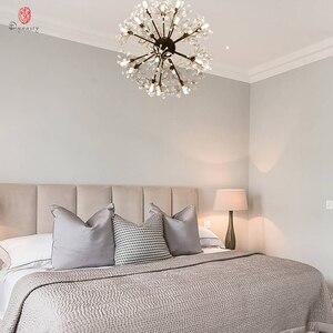 Image 5 - Luces colgantes de la serie Dandelion, lámpara colgante decorativa artística con forma de rama y bola, incluyen bombillas LED G4, vestíbulo, cafetería, sala de estar