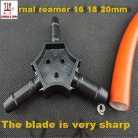 무료 배송 배관공 도구 핸드 리머 16mm/18mm/20mm PEX-AL 리머 ppr 캘리tor 배관 파이프 용
