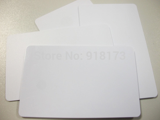 11500pcs/lot Inkjet Printable blank PVC card for Epson T60 T50 R280 R380 A50 P50 R260 R265 R270 R285 R290 R680 20pcs lot double direct printable pvc smart rfid ic blank white card with s50 chip for epson canon inkjet printer