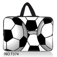 """Football Arts 14"""" 14.1"""" Inch Laptop Carry Sleeve Case Bag For IBM Lenovo HP Dell Sony Acer"""