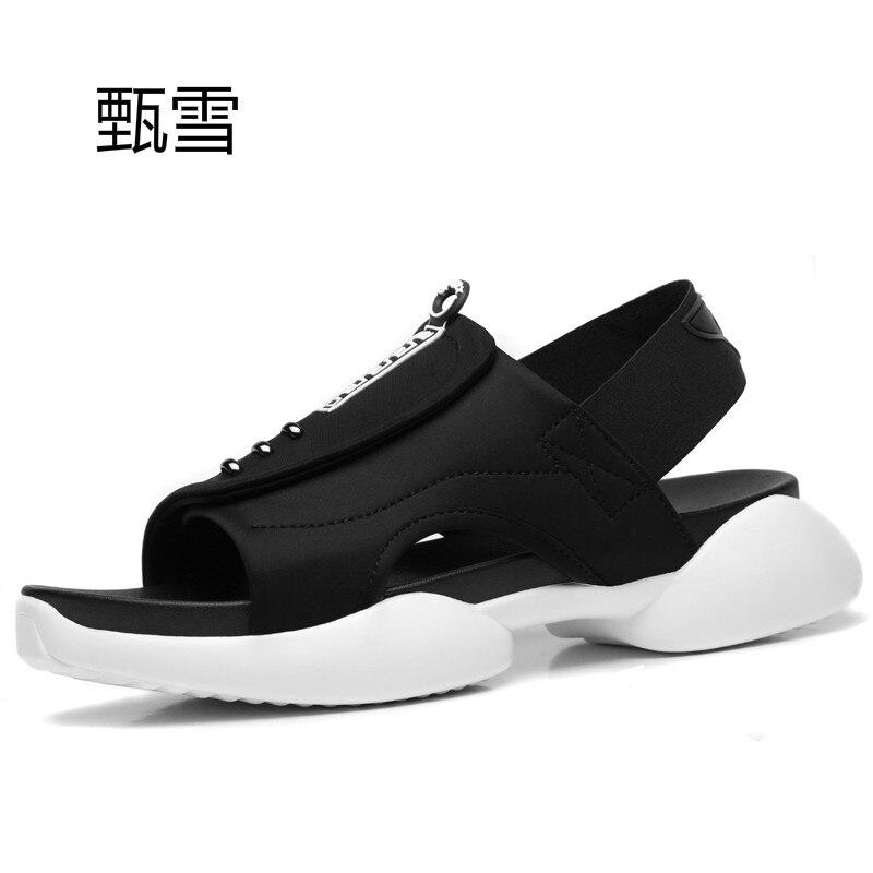 Personalized Summer Men's Sandals, Beach Shoes, Non Slip Casual Sandals, Men's Breathable Beach Shoes
