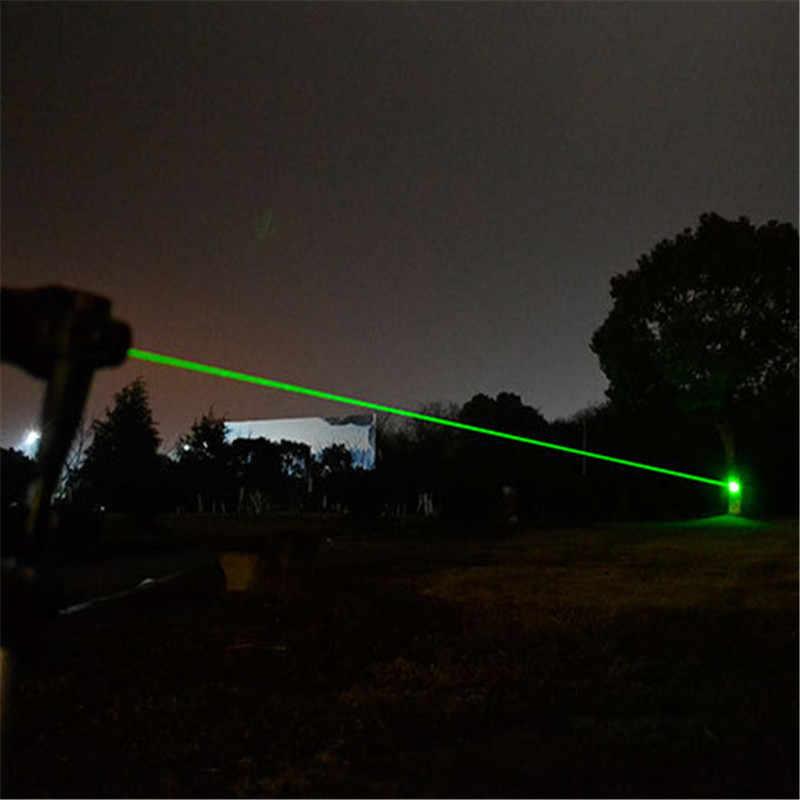 10000 m חזק 2 ב 1 אדום מצביע לייזר ירוק עמיד למים סגסוגת מתכוונן לייזר 303 Sight לייזר מצביע עבור קמפינג ציד