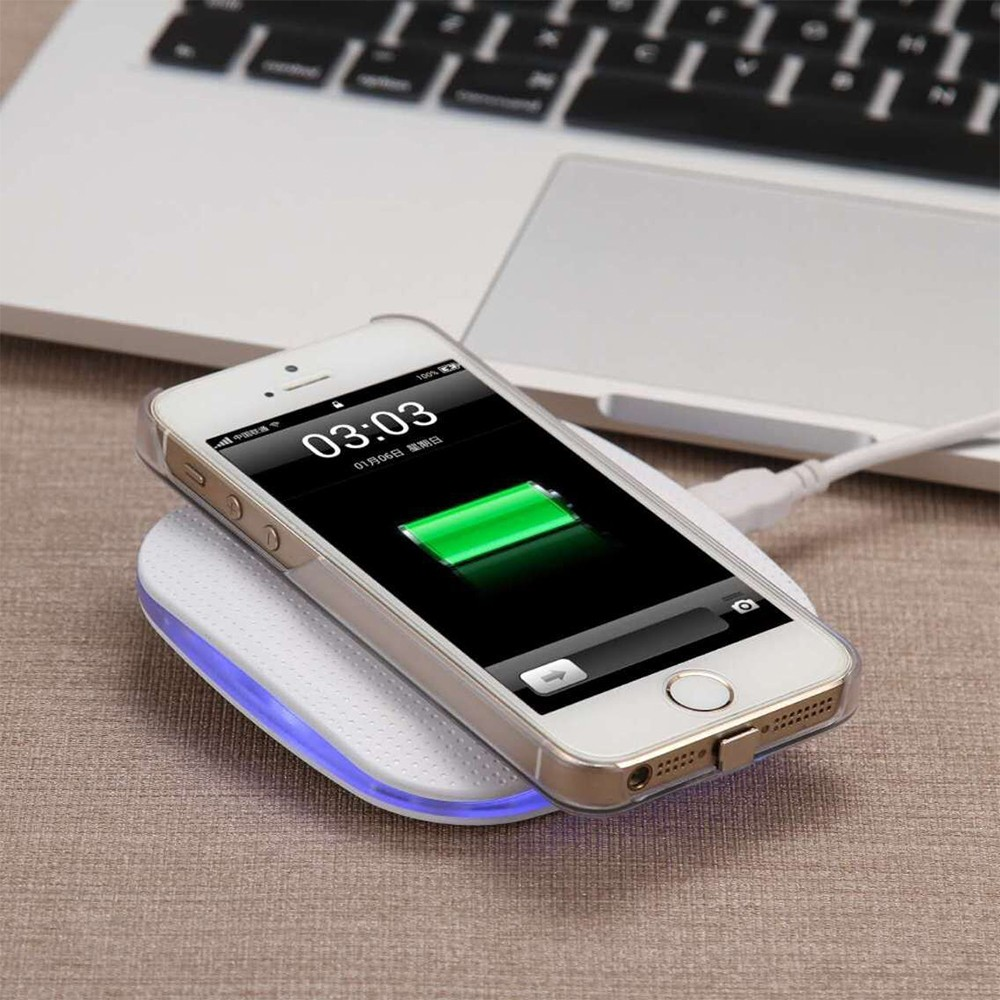 WL028 Flash LED Qi Wireless Charger Wireless Charging Pad (16)