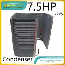 7.5 P конденсатора 65000BTU охладитель воды для пластиковых машины для обработки улучшить система охлаждения и уменьшить вес оборудования