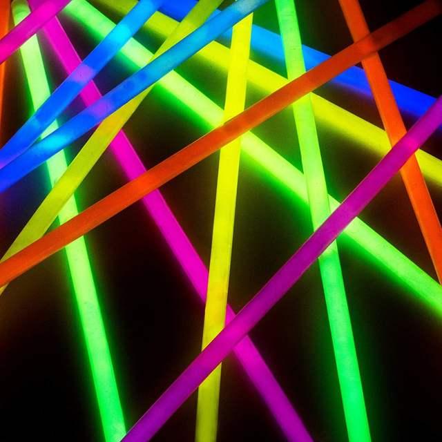 50pcs Hand Ring Glow Stick Sticks Bulk Party Night Run Light For Neon Necklaces And Bracelets Kids