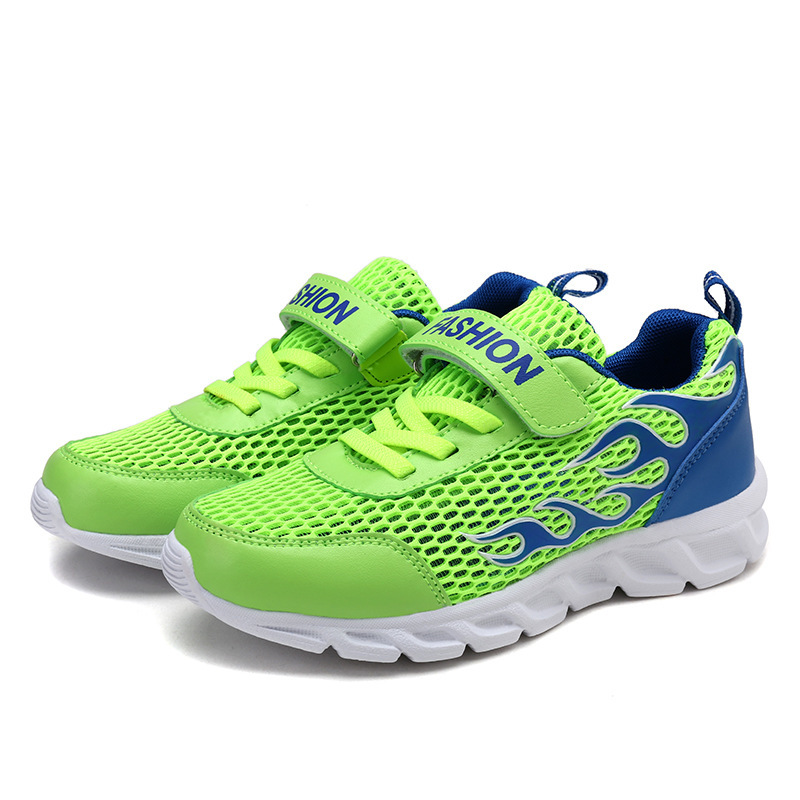 Kids Running Shoes Air Mesh Lightweight Breathable Spring Summer Outdoor Trainers Children's Sport Sneakers For Girls Boys uovo 2017 spring new kids shoes breathable canvas sandals for boys mesh summer sport sneakers girls eu size 27 33 italy brand