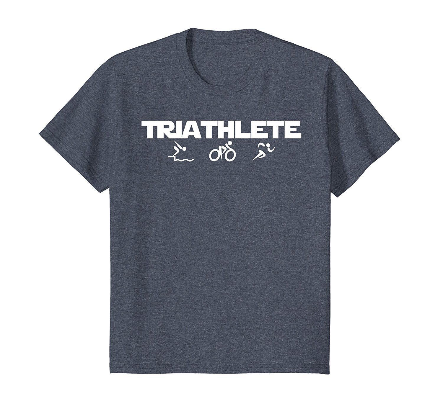 2019 Nieuwe Zomer Casual T shirt Triathlete Swimminger Biker Loopt Triathlon T shirt in T Shirts from Men 39 s Clothing