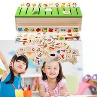 Mathematical Knowledge Classification Wooden Box Toy Cognitive Matching Children Montessori Early Learning Toys For Children