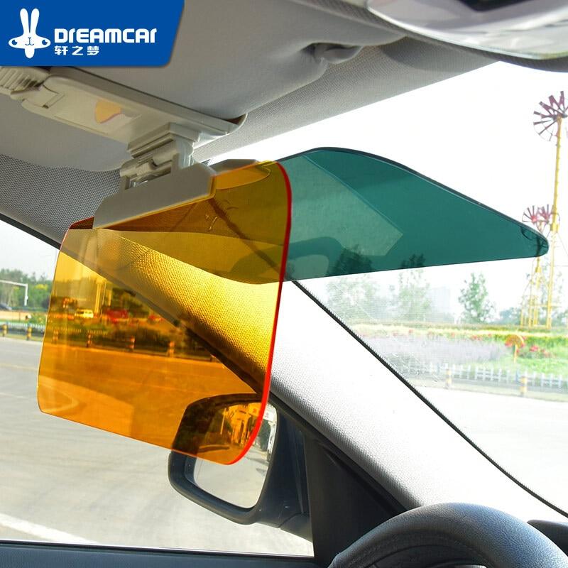 ფანჯრის კილიტა Car Sun Sun Shade სათვალე Car Sun Visor Shield Flip Car Window Sunshade თავიდან ასაცილებლად Dazzle Mirror დღე და ღამე