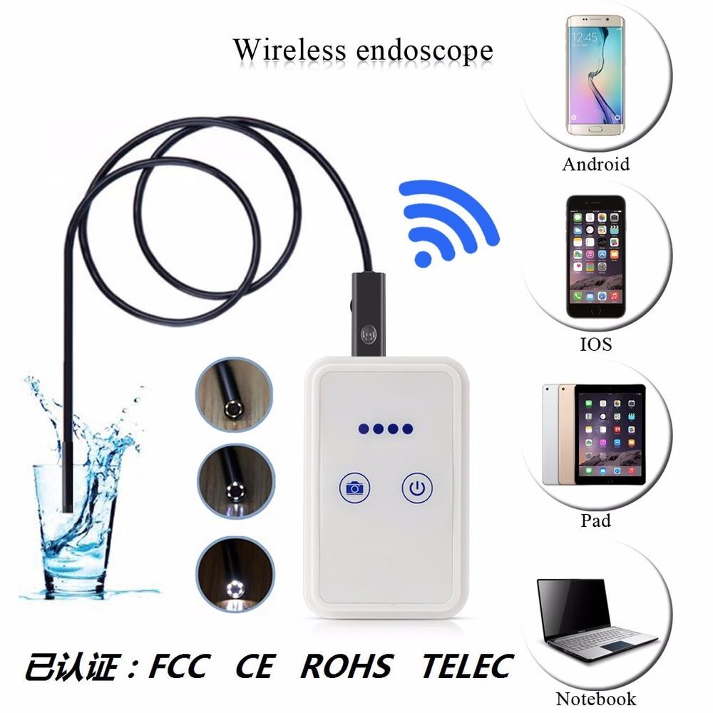 HD 1200P Wifi Endoscope Android Apple Endoscope Wifi Mobile Endoscope Camera
