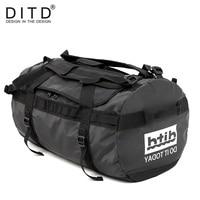 DITD 100% Waterproof luggage Large Capacity Travel Duffle Multifunction Tote Casual Crossbody Bags Men's handbag Travel Bag