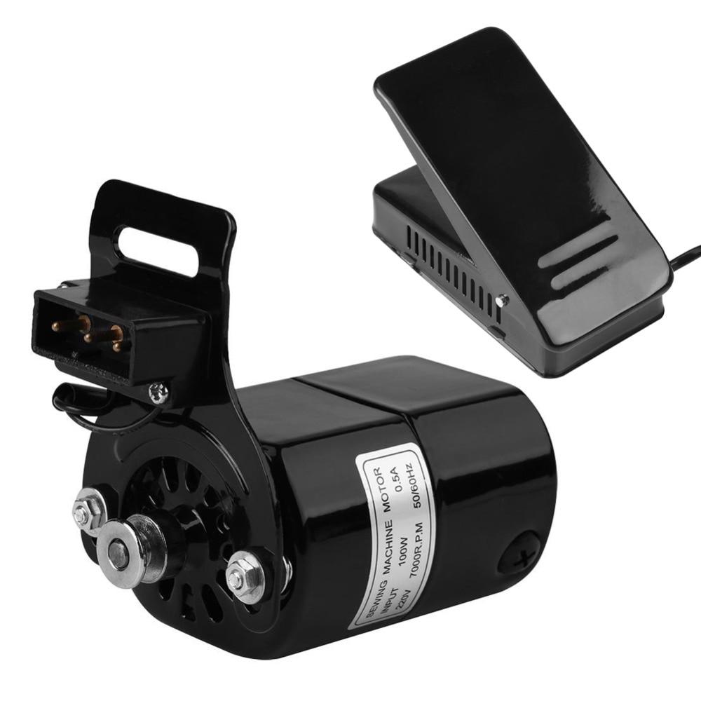 Acheter Accueil Machine À Coudre Moteur 7000 RPM K support 0.5 AMP 220 V 100 W et 25A 250 V Commande Au Pied Pédale Vitesse Pédale Contrôleur avec Cordon de Coudre outils et accessoires fiable fournisseurs