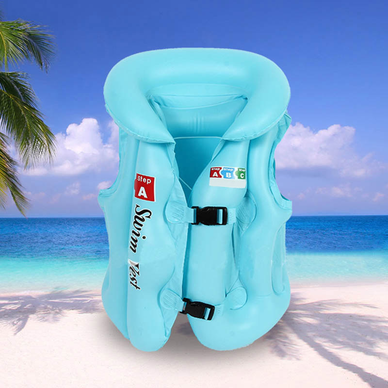 Pool New Baby Life Jackets Kids Float Inflatable Swim Vest Life Jacket Swimming Aid For Teens XD88