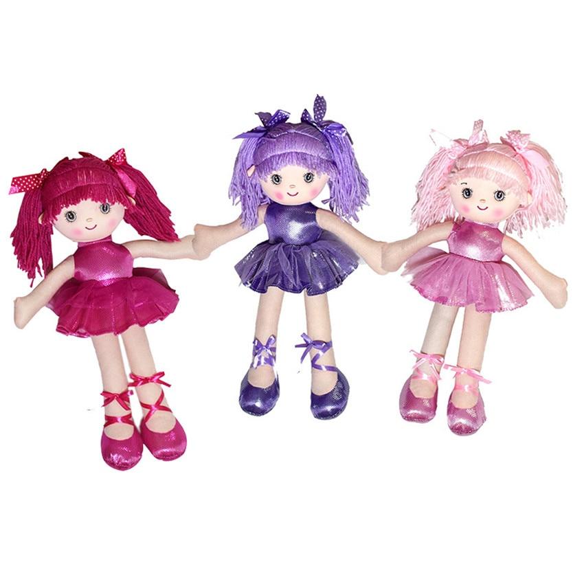 Unique Toys For Girls : Cm inch cute beautiful ballerina girl dolls plush