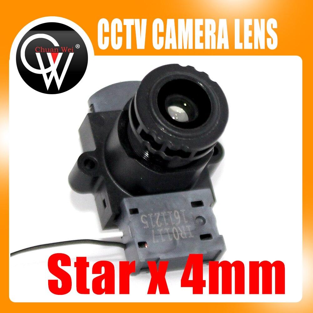 Starlight 4mm Lens +IR CUT 93.7 Degree F1.5 1/3.2