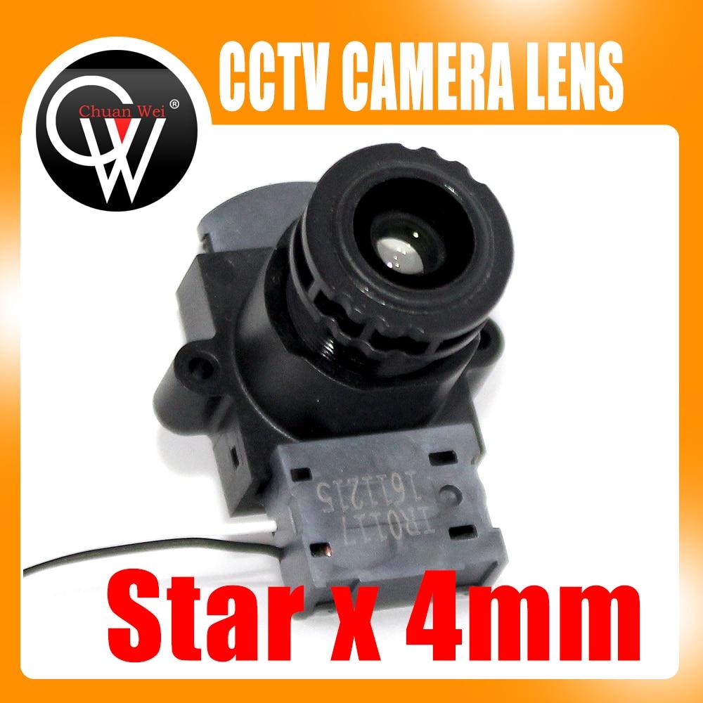 Starlight 4mm lens +IR CUT 93.7 Degree F1.5 1/3.2 M12 CCTV lens for 720P/1080P CCTV IP Camera