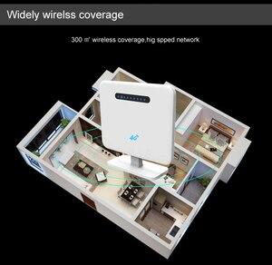Image 2 - 300 Mbps 3G/4G WIFI yönlendirici 2.4 GHz kablosuz erişim noktası CPE WAN/LAN Portu ile SIM kart Yuvası 300 Mbps