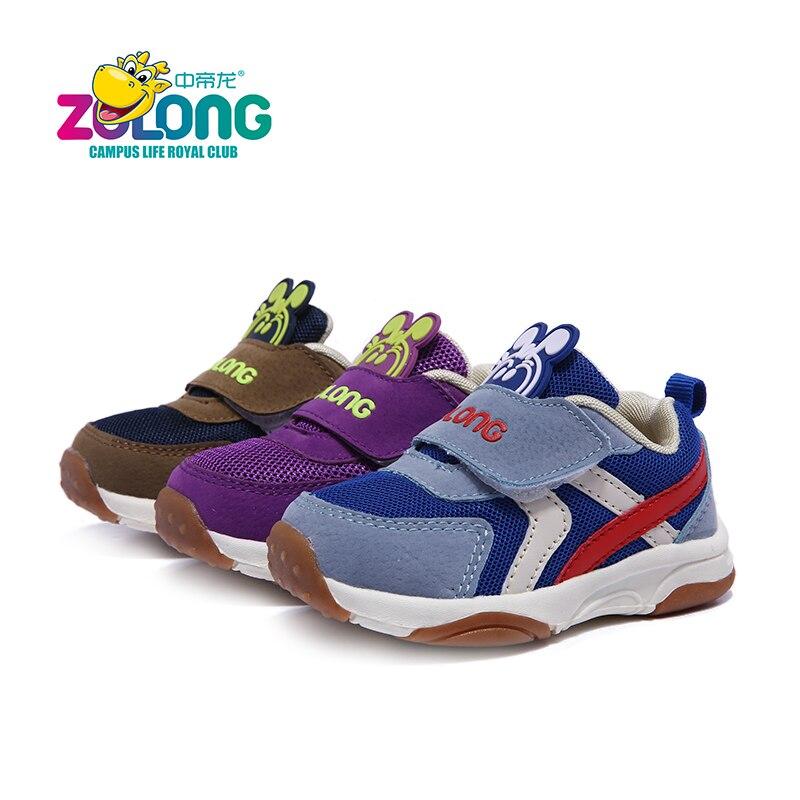 Dziecięce buty na 1-4 rok Air Mesh Oddychająca haczyk i pętla Moda - Obuwie dziecięce - Zdjęcie 3