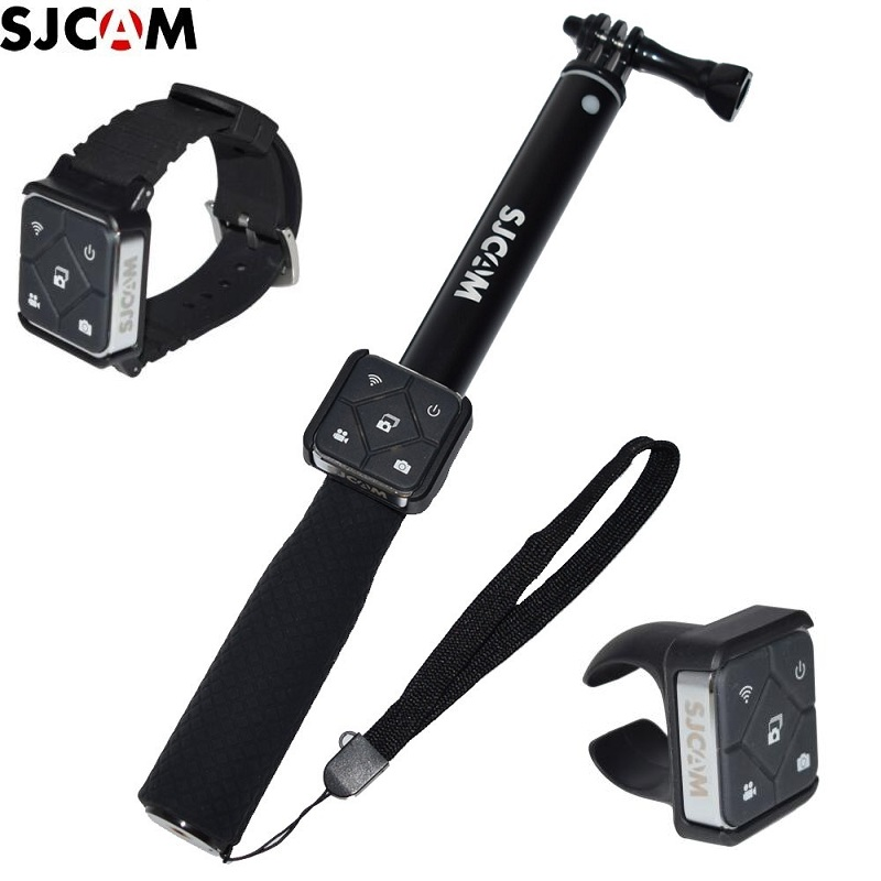 Original SJCAM Remote Control WiFi Watch/Wrist Band Remote Battery Selfie Sticks/Monopod For A10/M20/SJ6 /SJ7 SJ9 SJ8 Air/pro