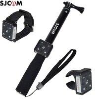 Оригинальный SJCAM пульт дистанционного управления WiFi часы/наручный пульт дистанционного батарея палки для селфи/монопод для A10/M20/SJ6/SJ7 SJ9 SJ8 Air/...