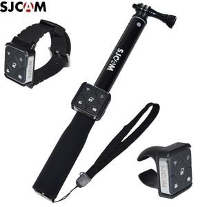 Image 1 - Original SJCAM Remote Control WiFi Watch/Wrist Band Remote Battery Selfie Sticks/Monopod for A10/M20/SJ6 /SJ10 SJ9 SJ8 Air/pro