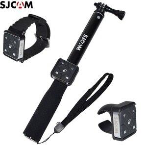 Image 1 - מקורי SJCAM שלט רחוק WiFi שעון/להקת יד מרחוק סוללה Selfie מקלות/חדרגל עבור A10/M20/SJ6 /SJ10 SJ9 SJ8 אוויר/pro