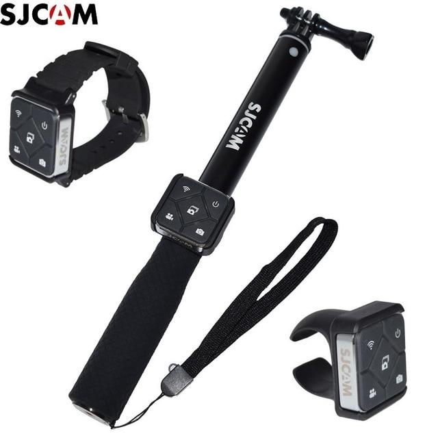 מקורי SJCAM שלט רחוק WiFi שעון/להקת יד מרחוק סוללה Selfie מקלות/חדרגל עבור A10/M20/SJ6 /SJ10 SJ9 SJ8 אוויר/pro