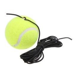 Ракетка Спортивная портативная теннисная Запасные детали для тренажера теннисный мяч со струной резиновый шерстяной теннисный мяч для