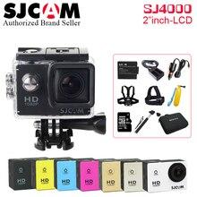 Original SJCAM SJ4000 Sport Action Camera 2.0 inch HD 1080P Diving 30M Waterproof DV Extreme Sports mini Camcorder SJ 4000 Cam