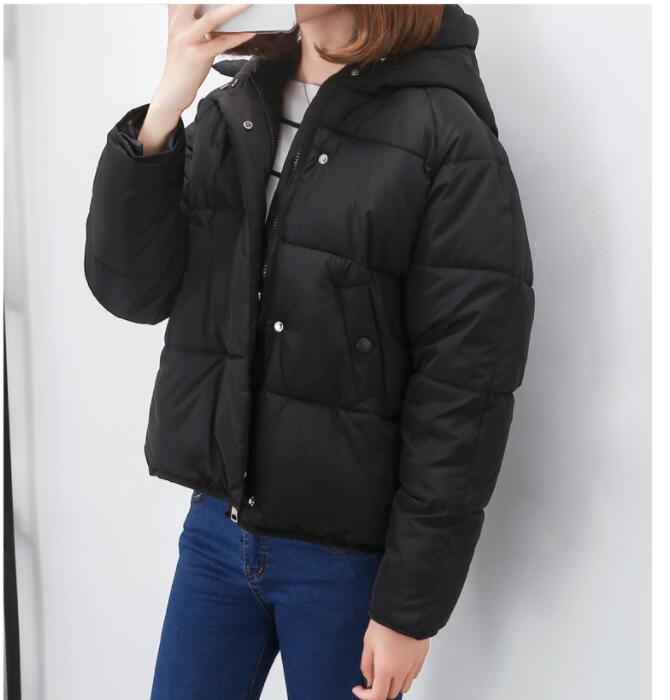 2018 Новый пуховик с хлопковой подкладкой свободные хлеба мягкий маленький Хлопчатобумажная Куртка A751