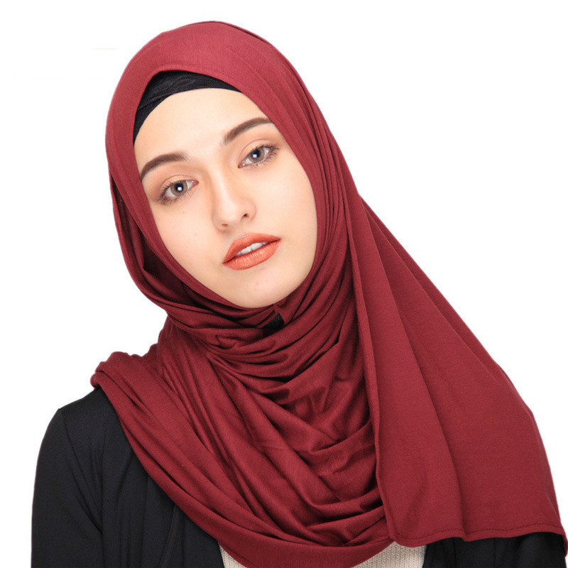New-Fashion-Custom-Logo-Cotton-Hijab-Jersey (3)