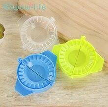 3Pcs Kitchen Creative Manual Dumplings Food Grade Plastic Folder Household Mold For Tools
