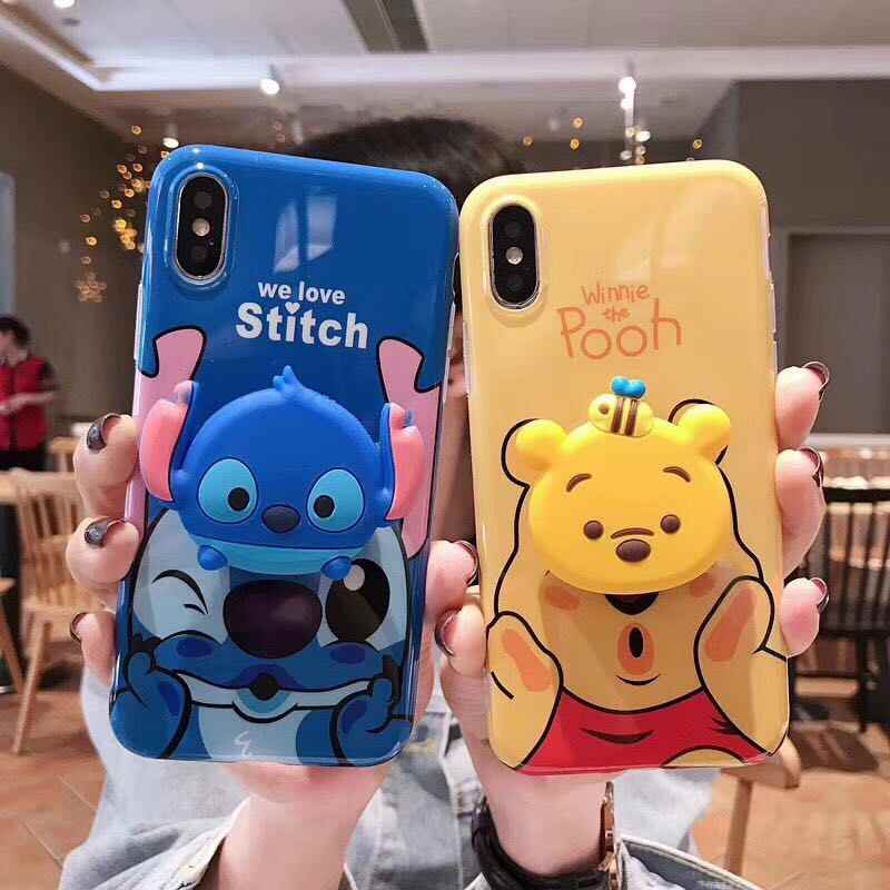 check out 64430 8fefb Detail Feedback Questions about Cute Winnie Pooh stitch for iphone ...