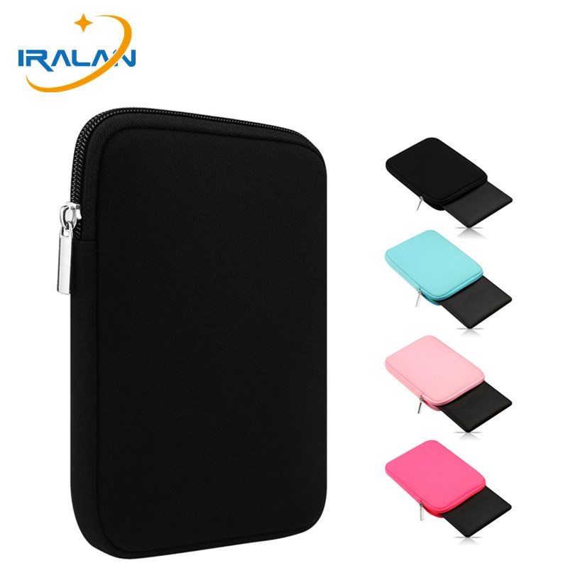 2018 Hot EReader Sleeve Pouch Bag For Kindle Paperwhite 1 2 3 4 Voyage 8th Ebook Cover For LG Son Kobo Clara Aura Hd 6 Inch Case