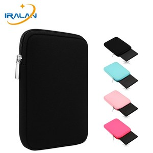 2018 Hot EReader Sleeve Pouch Bag For Kindle Paperwhite 1 2 3 4 Voyage 8th Ebook Cover for LG Son Kobo clara Aura hd 6 inch Case(China)