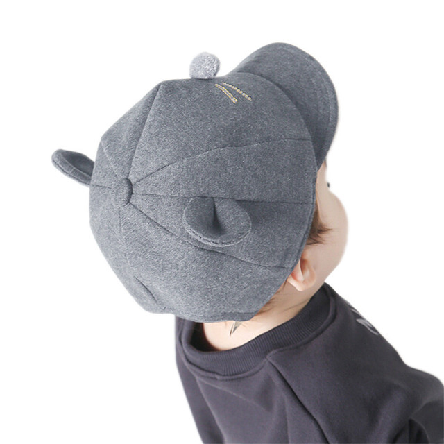 Kids Baby Bunny Rabbit Visor Baseball Cap Cotton Peaked Hat Baby accessories Accesorios de bebe Baby headdress NW